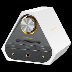 Sound Blaster X7_White_Angle